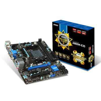 Msi Placa Base A88xm E35 Matx Fm2
