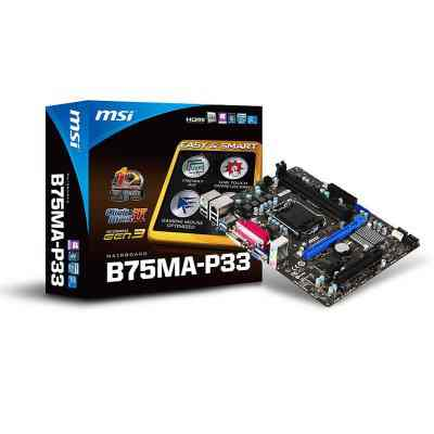 Msi Placa Base B75ma P33 Matx Lga1155