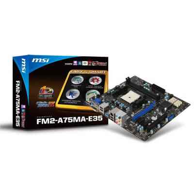 Msi Placa Base Fm2-a75ma-e35