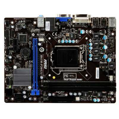 Msi Placa Base H61m-p20 Gen3 Matx Lga1155