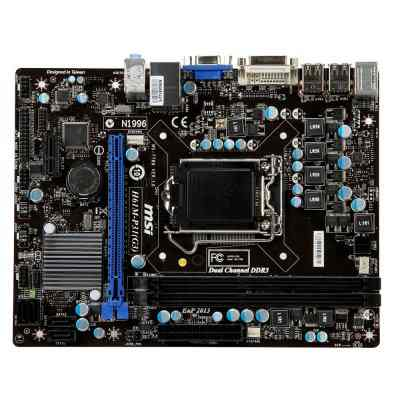 Msi Placa Base H61m-p31w8  Matx Lga1155