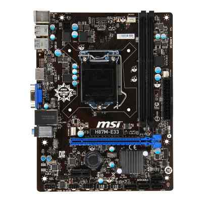 Msi Placa Base H87m E33 Matx Lga1150