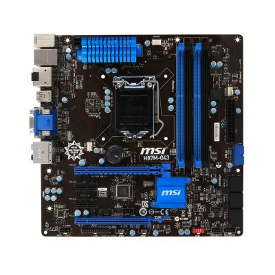Msi Placa Base H87m-g43 Matx Lga1150