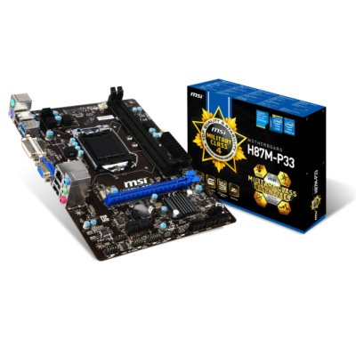 Msi Placa Base H87m-p33 Matx Lga1150