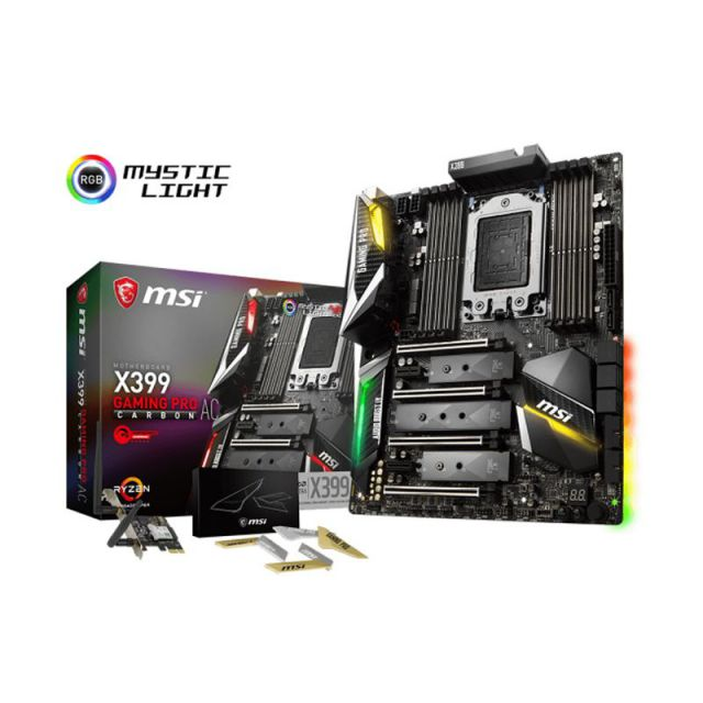 Ver MSI X399 GAMING PRO CARBON AC