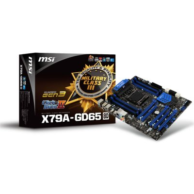 Msi Placa Base X79a-gd65  8d  Atx Lga1155