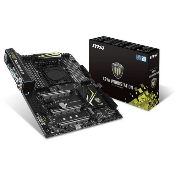 Ver MSI X99A Workstation