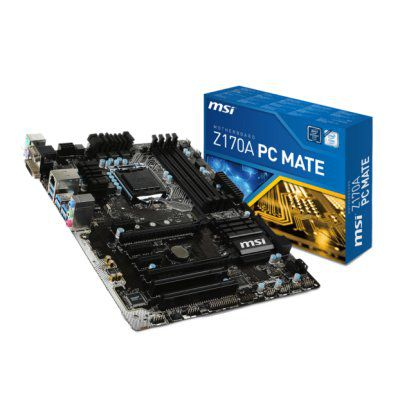 Ver MSI Z170A PC MATE ATX LGA1151