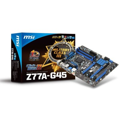 Msi Placa Base Z77a-g45 Atx Lga1155