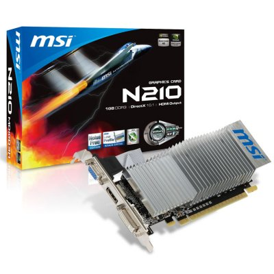 Msi Tarj Grafica N210-md1gd3hlp 1gb Ddr3