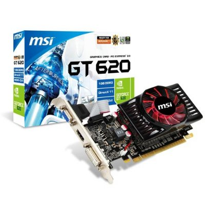 Msi Tarj Grafica N620gt-md1gd3lp 1gb