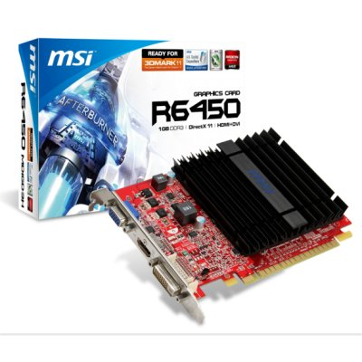 Grafica Msi Amd R6450-md1gd3h 1gb Ddr3