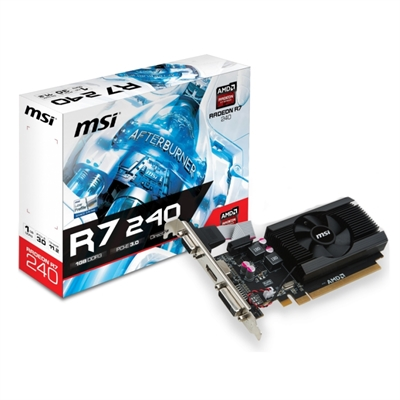 MSI R7 240 1GD3 64B LP 1GB DDR3
