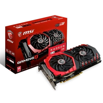 Ver MSI RX 480 GAMING X 8GB DDR5