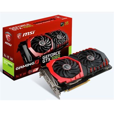 MSI GTX 1060 GAMING X 3GB DDR5