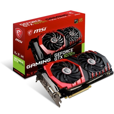 MSI GTX 1070 TI GAMING 8GB DDR5