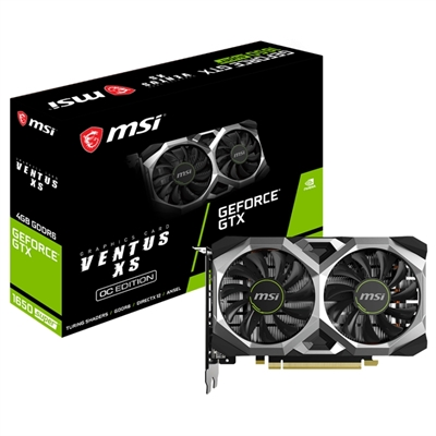 MSI GTX 1650 SUPER VENTUS XS OC 4GB DDR6