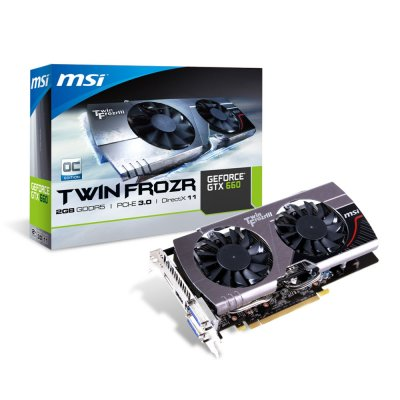 Msi Vga Nvidia N660 Tf 2gd5oc G 2gb Ddr5