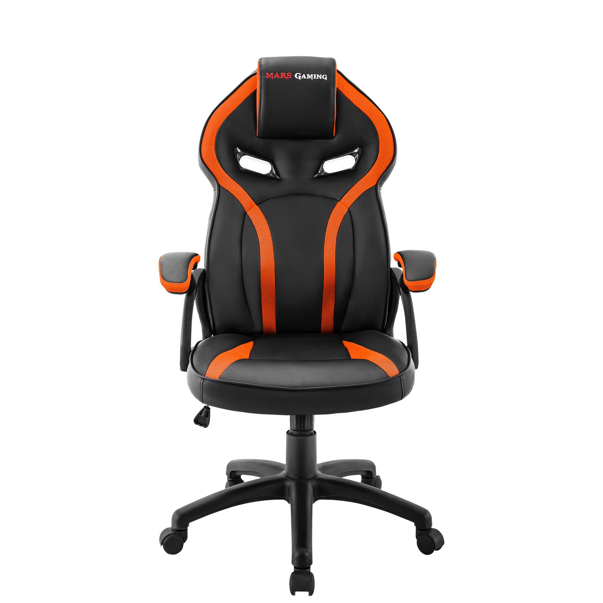 Ver Mars Gaming MGC118 Negro Naranja