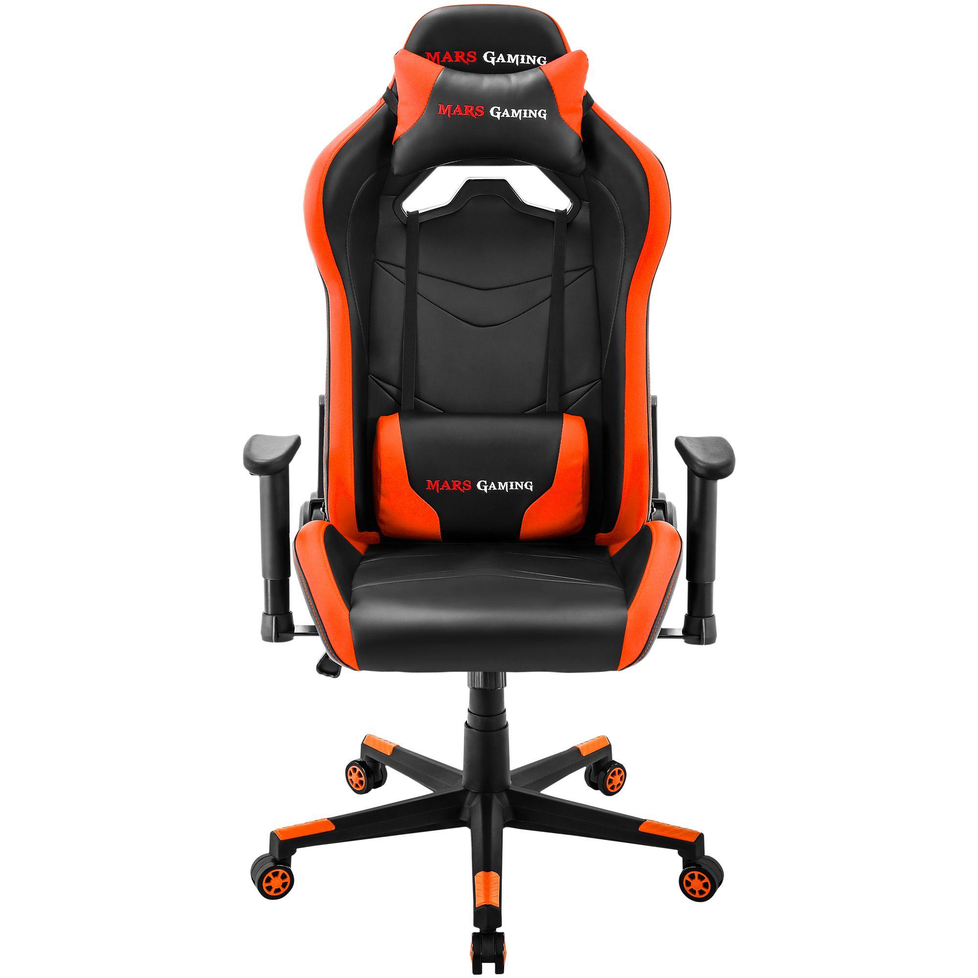 Mars Gaming MGC3 Negro Naranja