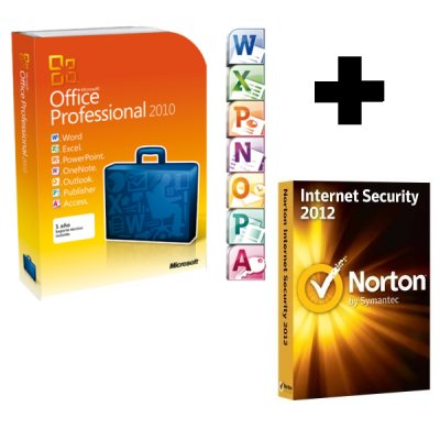 Microsoft Office 2010 Profesional Pkc Norton Is