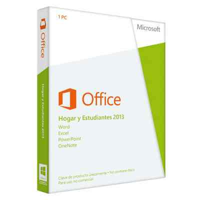 Ver Microsoft Office 2013 HogarEstudiantes PKC