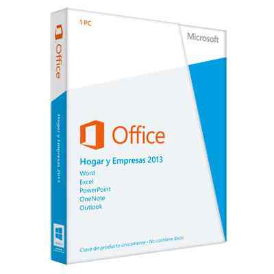 Ver Microsoft Office 2013 HogarPeqEmpresa PKC