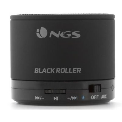 Ngs Altavoz Portatil Bluetooth Black Roller
