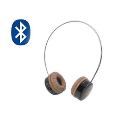 Ngs Auricular Bluetooth Vintage Artica Negro