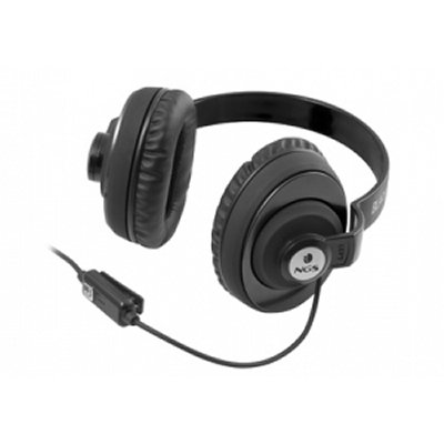 Auriculares Ngs Auricular Mic Flap Negro