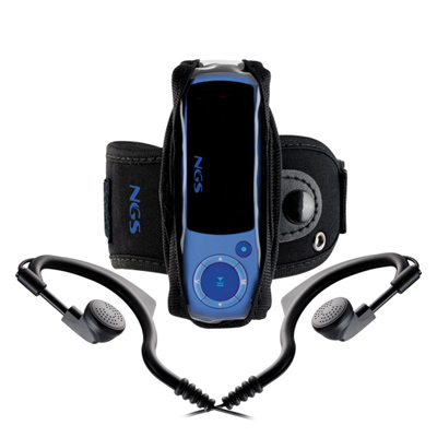 Ngs Blue Popping Mp3 2gb Fm Azul