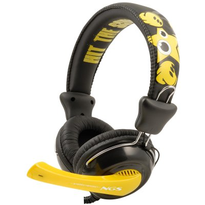 Ngs Hit The Sound Auriculares   Microfono Jack 35