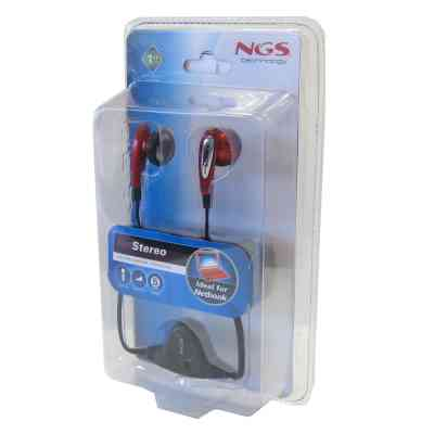 Ngs Netstereo Auriculares Botonmicro Jack 35mm
