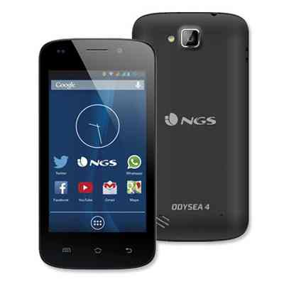 Movil Ngs Odysea4 4 Ips D12ghz 512mb 4gb 2xsim Negro