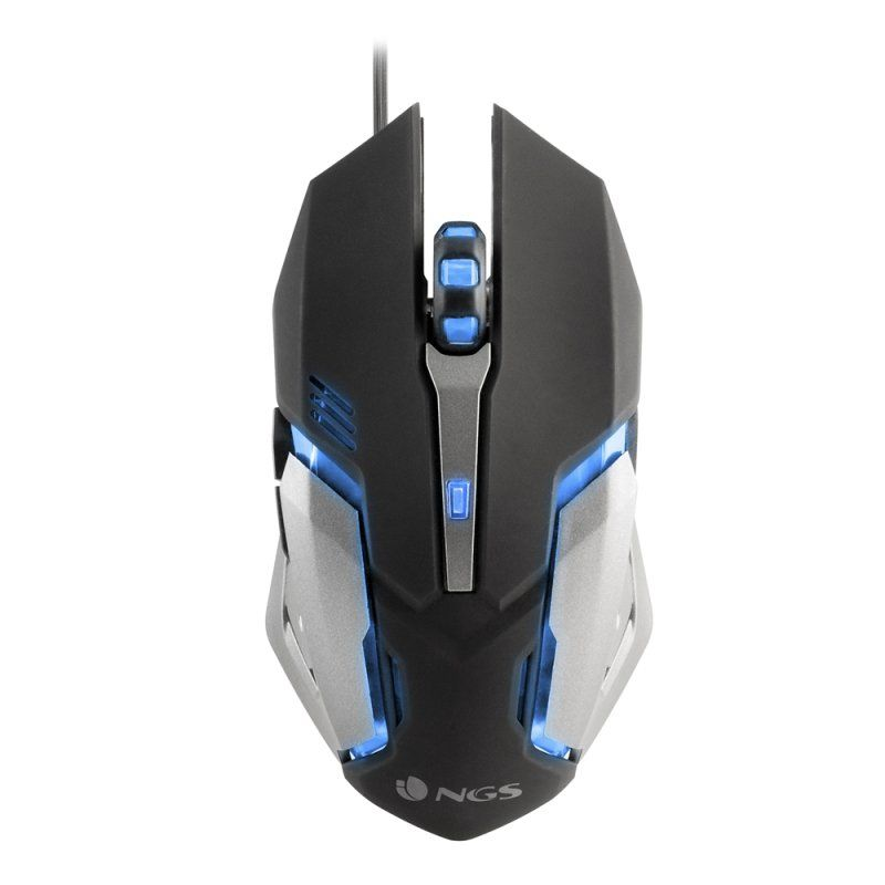 Ver NGS GMX 100 7 Colores LED 2200 DPI Raton Gaming