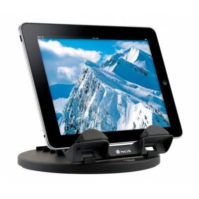 Tablet pc ngs soporte para tablets con base giratoria 360 - Soporte para tablet ...