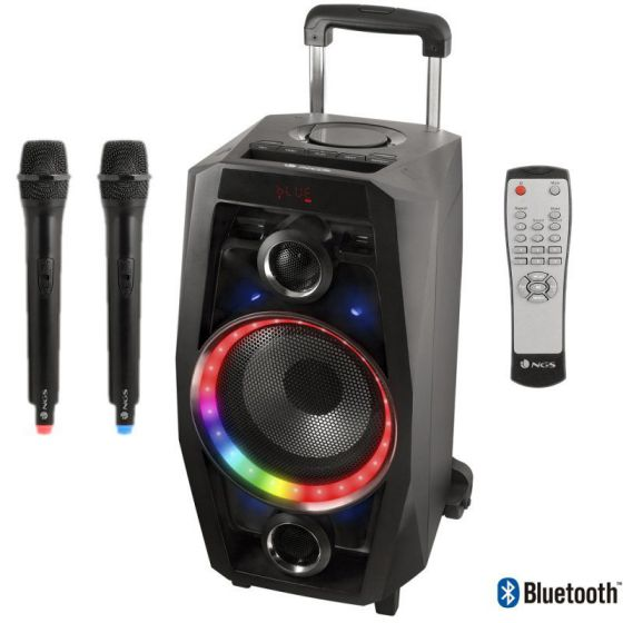 Ver NGS Torre WildDisco Bluettooth 80W USB SD FM