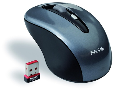 Ngs Raton Flea Pro 24ghz Optico 1000dpi Nano Usb