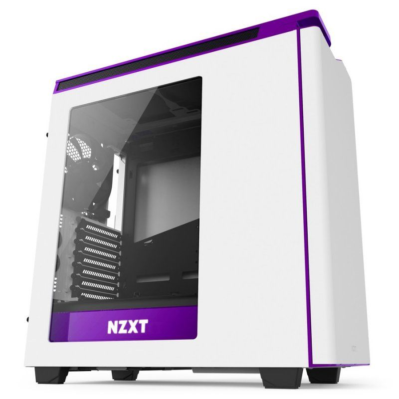 Ver NZXT H440 White Purple New Edition