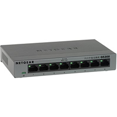 Ver Netgear GS308-100PES Switch 8p Gigabit caja metal