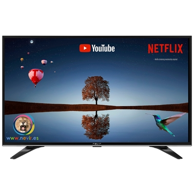 Nevir 9000 TV 32 Smart TV LED HD USB HDMI Negra