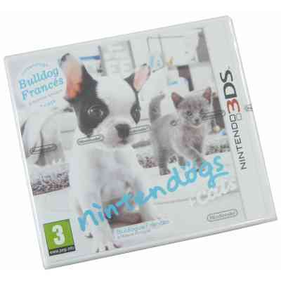 Nintendo Nintendog Cats 3ds Bouldogue Frances 3