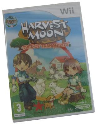 Nintendo Wii Harvest Moon Tree Of Tranquility 3