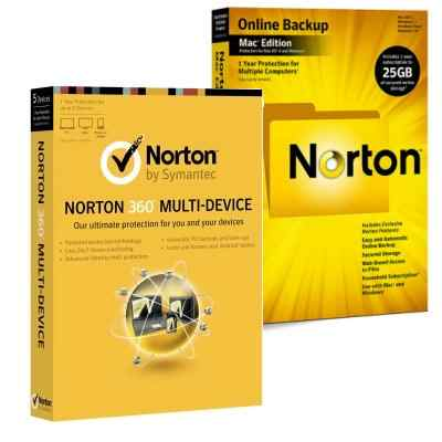 Norton 360 Multidevice 1 Disp Norton Backup  25gb