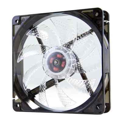 Nox Ventilador Caja Cool Fan 12cm Led Blanco