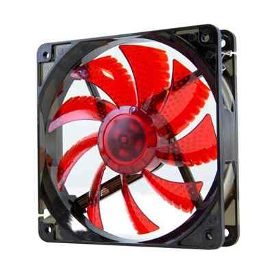 Ver Nox Ventilador Caja Cool Fan 12cm Led Rojo