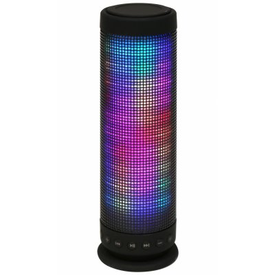 Ver OMEGA ALTAVOZ BLUETOOTH v30 LED COLORx88 NEGRO