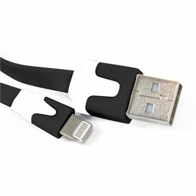 Ver OMEGA Cable Lightning plano USB iphoneipad mini N