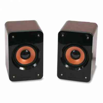 Omega Altavoces 20 Og 11w 5w Rms Madera