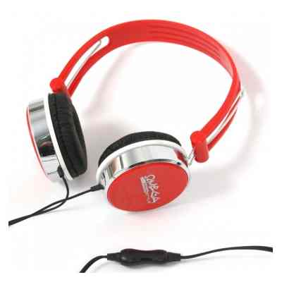 Omega Auriculares Micro Fh0013 Rojo